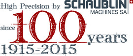 100 years of Schaublin Machines SA